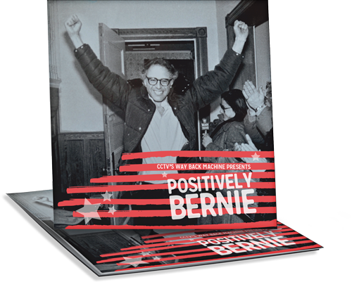 Photos of 'Positively Bernie' DVDs